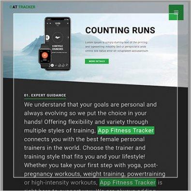 Изготовление сайта по грузоперевозкам для мобильных устройств