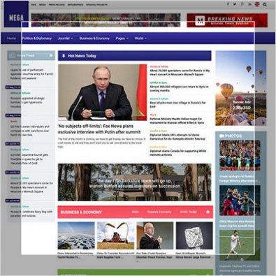 Сделать портал политических новостей