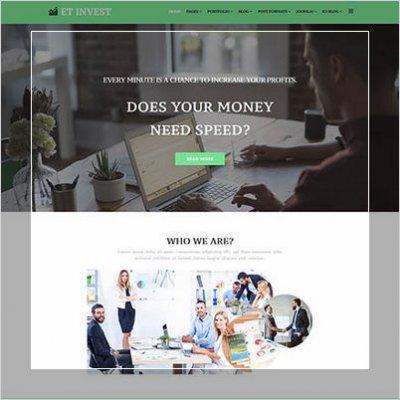 Сделать сайт инвестиционной компании