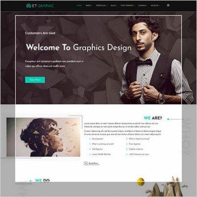 сайт для студии графического дизайна